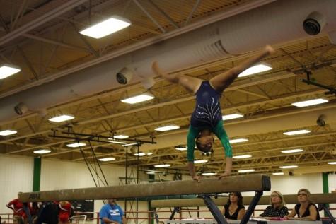First Gymnastics Meet of the Season