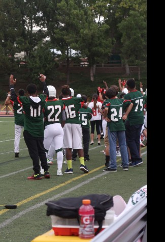 Varsity Football Loses to Rock Canyon