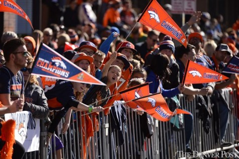 Denver Broncos Super Bowl 50 Victory Parade