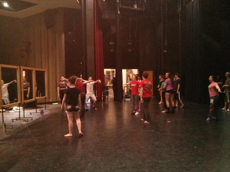 Spring Musical Enters Third Week of Rehearsal