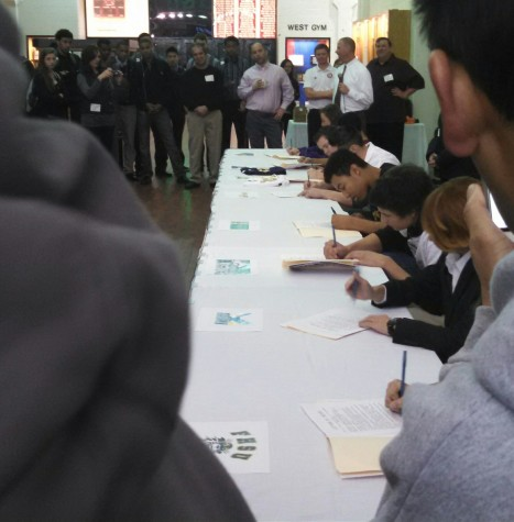 Students Sign for School