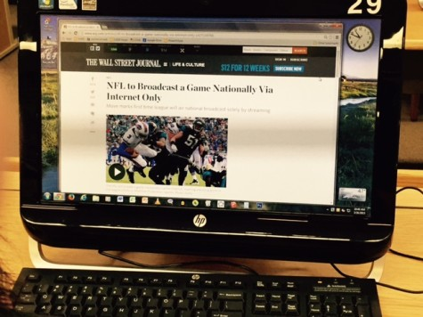 NFL's First Online Game