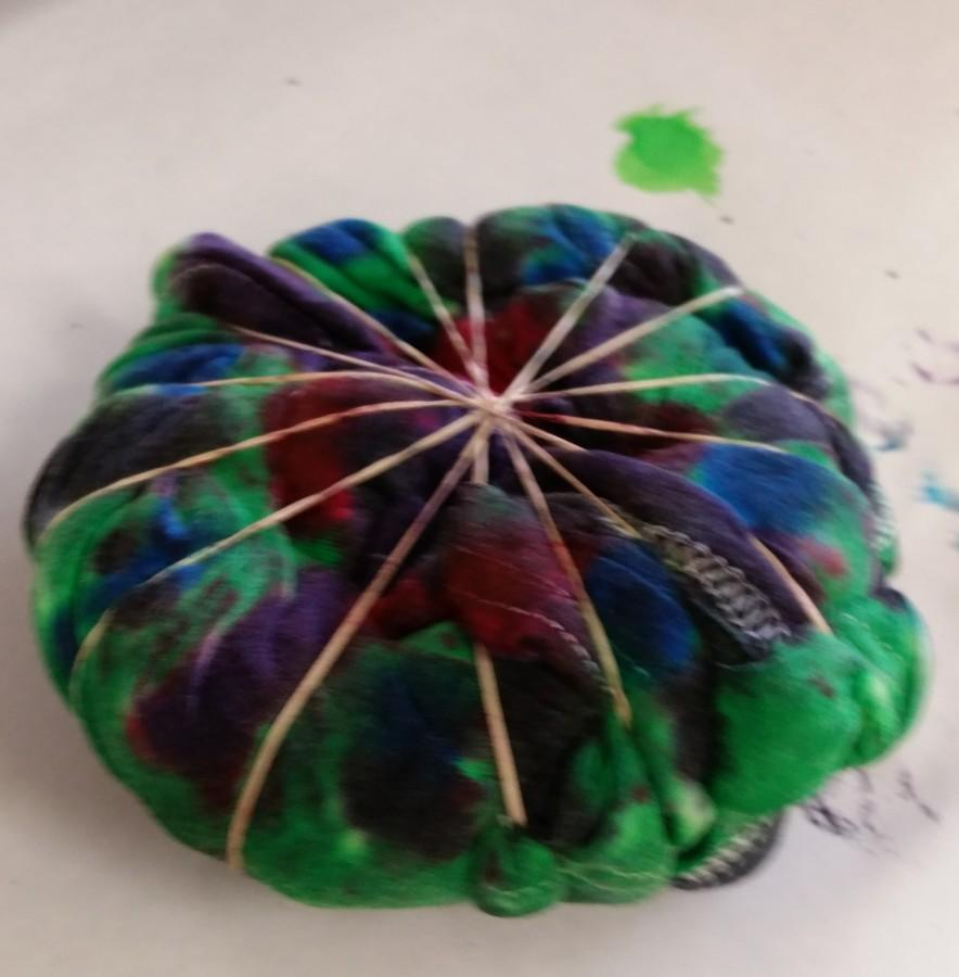 Tie-dying in Chemistry
