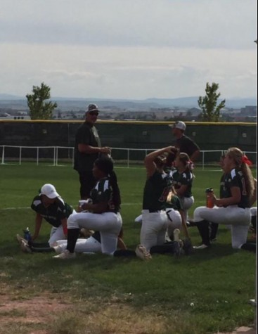 The Softball Team's Away Conference Game