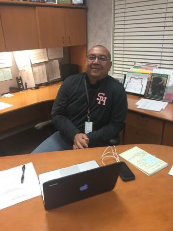 New Principal Chuck Puga
