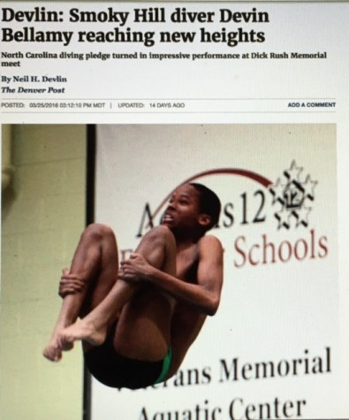 Smoky Hill Diver Becomes Third Best in Colorado
