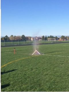 Astronomy Rocket Launching