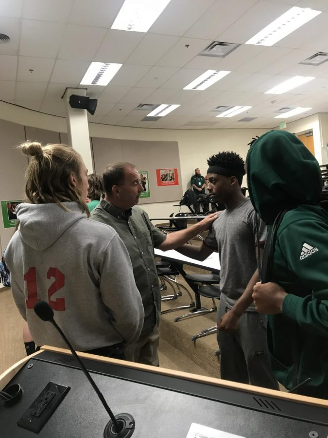 Smoky Hill Introduces New Football Coach