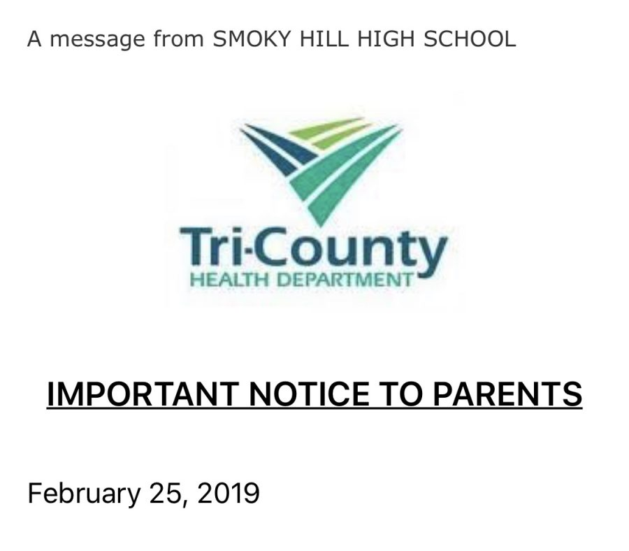 Whooping Cough outbreak at Smoky