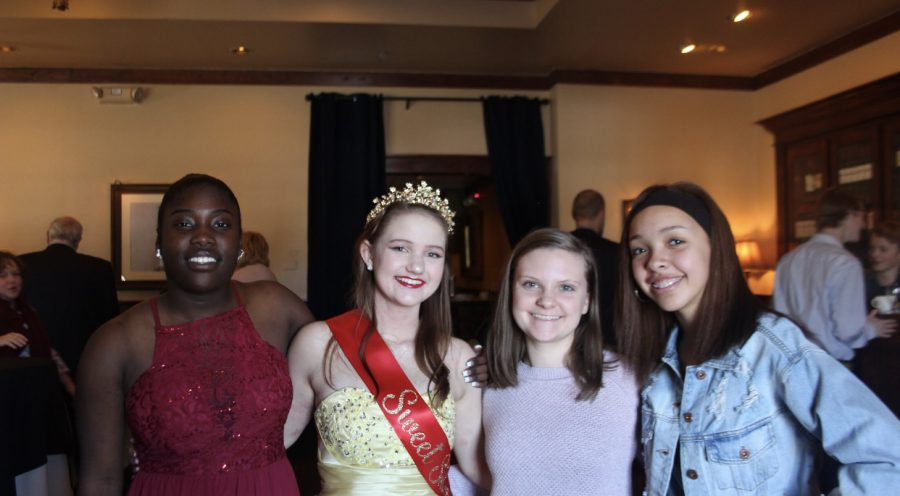 Lexi Pruisner celebrated her sweet 16th with family and friends during spring break. Lexi is seen with her her friends that she did dance with above.