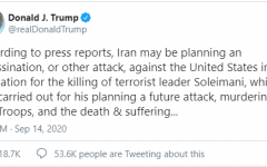 Tweet from the president on the 14th, taken from his Twitter
